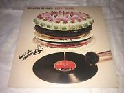 Keith Richards Signed Let It Bleed Lp Album The Rolling Stones Proof