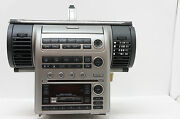 Read Infiniti G35 Bose Radio 6cd Changer Navigation Display Climate Unit As-is