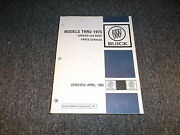 1970 Buick Skylark Wildcat Wagons Chassis Body Text Parts Catalog Manual Book