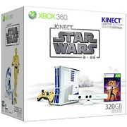 Unopened Microsoft Xbox 360 S Kinect Star Wars Limited Edition 320gb Matte White