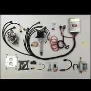 Complete Tbi - Throttle Body Injection Kit For 5.7l Small Block Chevy