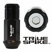 32 True Spike 14x2.0 Steel Lug Nuts Chrome Capped Closed End Ford Excursion