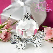 Crystal Pumpkin Carriage - Wedding / Party Favours   Table Decoration   New