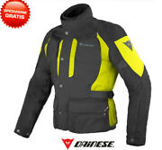 Jacket Dainese D-stormer D-dry Black Dark-gull-gray Motorcycle Touring Jacket