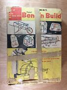 Vintage Bonnie-bilts Original Bend-n-build Game Set Unbreakable Plastic Parts