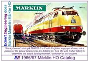 Ee 1966/67 E Us Exc Marklin Ho Catalog 1966 1967 Picture Of 3053 Tee Excellent