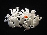 Jj Jonette Jewelry Silver Pewter And039ghost Partyand039 Pin Party Like Itand039s 1999