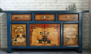 Chinesisches Sideboard Asia Kommode Anrichte China Vintage Shabby Landhaus Holz