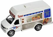Kinsfun Taco Truck Die Cast Metal With Pullback Action Ks5255d Catering Deliver