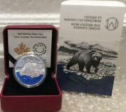 2017 Masters Club Coin Grizzly Bear 20 1oz Pure Silver Proof Coin Canada