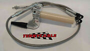 Banshee 33mm 34mm 35mm Keihin Terrycable Braided Twist Throttle Cable And Throttle