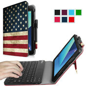 For Samsung Galaxy Tab S3 9.7 2017 Sm-t820 / T825 Case Cover Stand W/ Keyboard