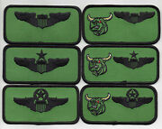 Usaf Patch 469th Flying Training Squadron 6 Piece Nametag Set Each 2 X 4 Size