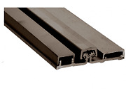 L Dark Bronze 200 Series Standard Duty 83 Full Surface Continuous Hinge