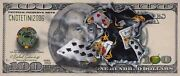 100 Bill With Eights Over Jacks - Michael Godard - With Certificate 290/400