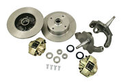 Empi Vw Bug T1 Link Pin 2-1/2 Drop Spindle Disc Brake Kit Blank 22-2923