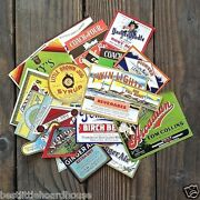 100 Different Hoardhouse Soda Bottle Labels 1890s-1950s Unused Label Collection