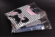 Garment Bags Clear Cello Plastic Self Seal Packaging For Clothing T-shirts Etc