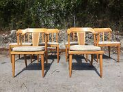 6 Tomlinson Dining Chairs Nelson Mccobb Eames Mid Century Sale