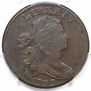 1798 S-174 R-2 Pcgs Vf 35 2nd Hair Style Small 8 Draped Bust Large Cent Coin 1c