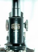 Antique Spencer Buffalo Microscope W/ 3 Objectives And Case