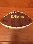 Nfl Football Autographed By Bart Starr, Paul Hornung, And Jim Taylor