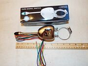 Universal Steering Column Mounted Turn Signal Switch Lighted Lever 6v And 12v