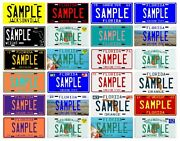 Florida Your Name Custom Metal License Plate - Choose From 24 Different Plates
