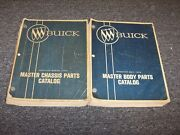 1940-1970 Buick Special Riviera Electra Super Body Chassis Parts Catalog Manual