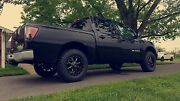 Mo970 17x9 Black Milled Wheels Mt Tires Package 6x139.7 6x135 33 Ford Chevy