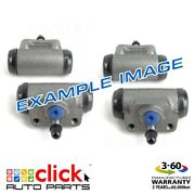 4x Brake Wheel Cylinders Rear For Toyota Coaster Rb20 Bus Disc Drum 1986-6/92