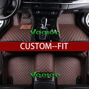 8 Colors Leather Floor Mats For Toyota Corolla E160 2013-2017 Waterproof Carpets