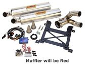 Sparks Racing Stage 1 Power Kit Ss Slip On Red Exhaust Polaris Rzr Xp 1000