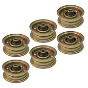 6 Idler Pulleys For Buton-goodall Pal0368a Pl0368a Homelite Jacobson 552200