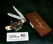 Schrade 285uh Knife Special Edition Ducks Unlimited C-1980's W/packaging,papers