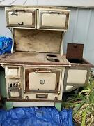 The Great Majestic Wood Stove 1900s Antique, Old West, Rustic, Cabin, Stove