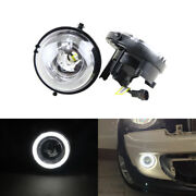 For Mini Cooper R55 R56 R58 R60 Drl Daytime Running Daylights Halo Ring Lamp Kit