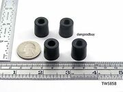 Tapered Rubber Bumpers With Washer - Rubber Feet - 5/8 Diam 5/8 Height