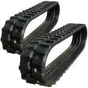 Two Rubber Tracks Fits New Holland Eh35.b 300x52.5x88