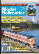 Model Railroader April 1997 Preview Nmra Convention Layouts Make N Scale Scenery