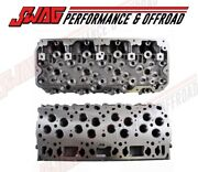 Enginetech Bare Heads W/o Valves Or Springs For '01-03 Lb7 Duramax Diesel 6.6l