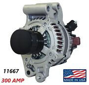 300 Amp 11667 Alternator Ford Fusion 2013-2016 1.5l 1.6l High Output Performance