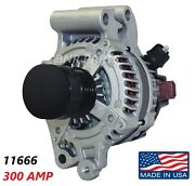 300 Amp 11666 Alternator Ford Fusion New Large Body High Output Performance Hd