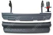 Mercedes Sprinter Rear Back Metal Step Plus Plastic Cover 2006 - 2017 With Plugs