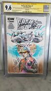 Back To The Future1 Cgc 9.8/9.6 Sketch Shelby Robertson Signed Michael J Fox