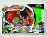 4d Metal Master Fusion Rapidity Fight Battle Beyblade Launcher Grip Kids Gift