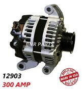300 Amp 12903 Alternator Ford Mustang New Fits 2009 2010 4.0l V6 High Output Hd