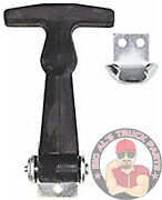 Buyers Products 2-1/2 Miniature Rubber Hood Latch With Bracket Wj202