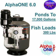 Gc Tek Alphaone 6.0 Media Filter Ao6.0 For Ponds To 17000 Gallons 300 Fish Load