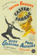 Easter Parade Vintage Movie Poster Fred Astaire Judy Garland
